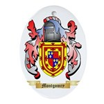 Montgomry Oval Ornament