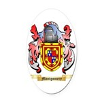 Montgomery Oval Car Magnet
