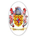 Montgomery Sticker (Oval 50 pk)