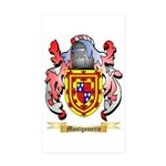Montgomerie Sticker (Rectangle 50 pk)