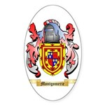 Montgomerie Sticker (Oval 50 pk)