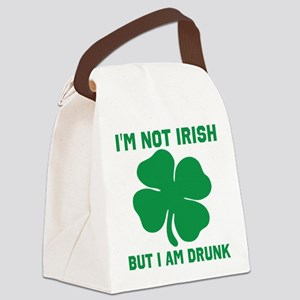Im Not Irish Canvas Lunch Bag