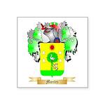 Montez Square Sticker 3