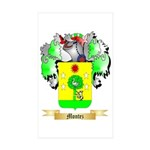 Montez Sticker (Rectangle 50 pk)