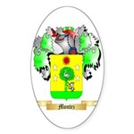 Montez Sticker (Oval)