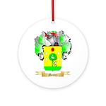 Montez Round Ornament