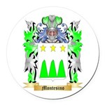 Montesino Round Car Magnet