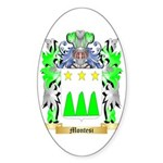 Montesi Sticker (Oval)