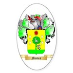 Montes Sticker (Oval 10 pk)
