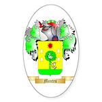 Montes Sticker (Oval 50 pk)