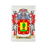 Montenegro Rectangle Magnet (100 pack)