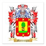 Montenegro Square Car Magnet 3