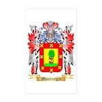Montenegro Sticker (Rectangle 50 pk)