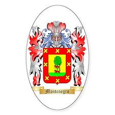 Montenegro Sticker (Oval)