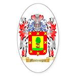 Montenegro Sticker (Oval 50 pk)