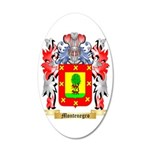 Montenegro 35x21 Oval Wall Decal