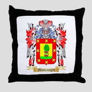 Montenegro Throw Pillow