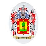 Montenegro Oval Ornament