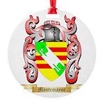 Montemayor Round Ornament