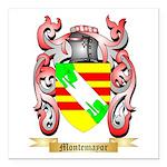 Montemayor Square Car Magnet 3