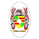 Montemayor Sticker (Oval)