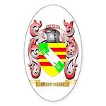 Montemayor Sticker (Oval 50 pk)