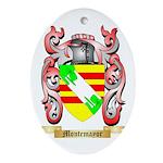 Montemayor Oval Ornament