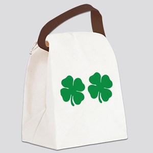 shamrock boobs Canvas Lunch Bag