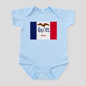 Iowa State Flag Infant Bodysuit