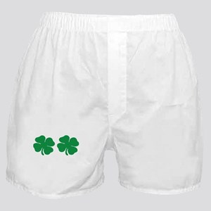 shamrock boobs Boxer Shorts