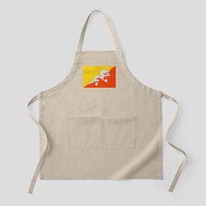 Bhutan Flag Apron