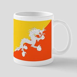 Bhutan Flag Mugs