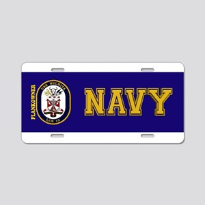 Plankowner LCS-13 Aluminum License Plate