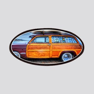 Vintage Surfing Woody Patch