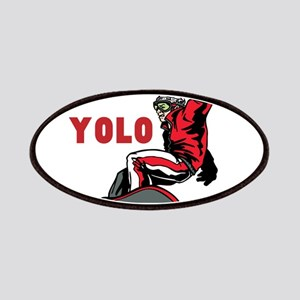 Yolo Snowboarding Patch