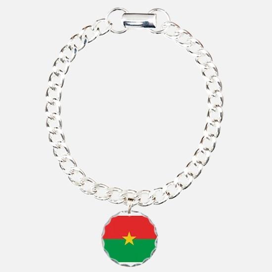 Burkina Faso Flag Bracelet