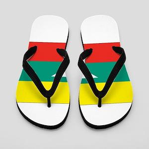 Burma - Myanmar Flag Flip Flops