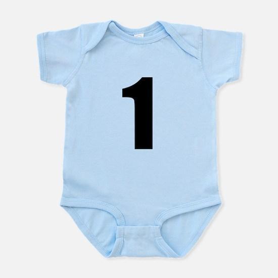 Number 1 Infant Bodysuit