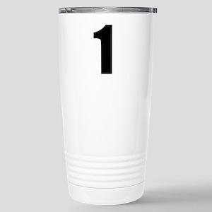 Number 1 Stainless Steel Travel Mug