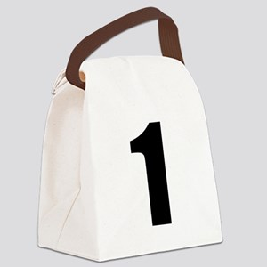 Number 1 Canvas Lunch Bag