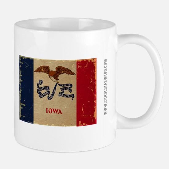 Iowa State Flag VINTAGE Mugs