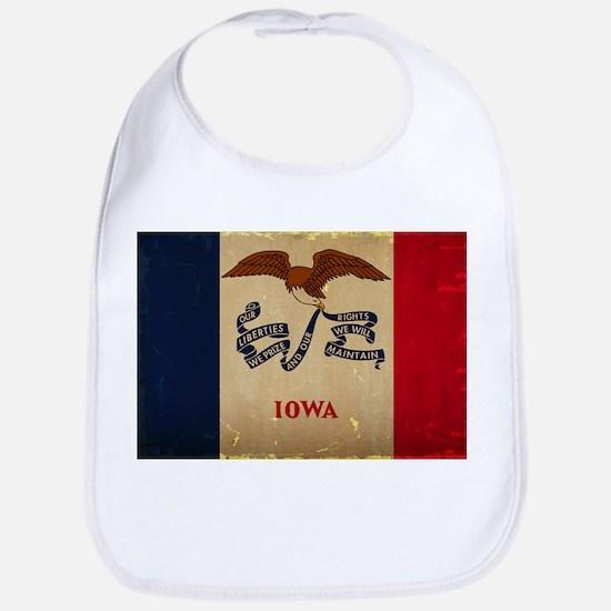 Iowa State Flag VINTAGE Bib