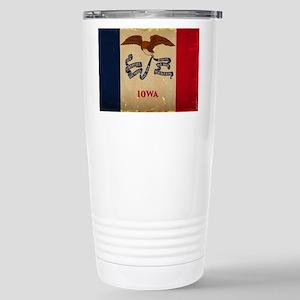 Iowa State Flag VINTAGE Travel Mug