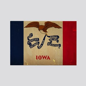 Iowa State Flag VINTAGE Magnets