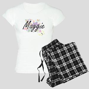 Maggie Artistic Name Design Women's Light Pajamas