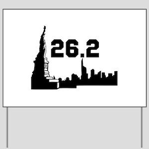 Marathon 26.2 Yard Sign