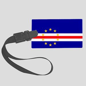Cape Verde Flag Luggage Tag