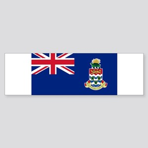 Cayman Islands Flag Bumper Sticker