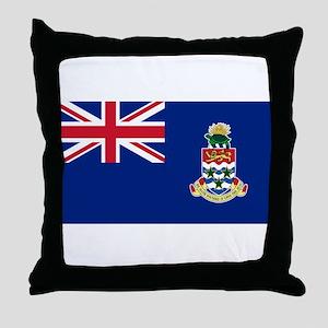 Cayman Islands Flag Throw Pillow