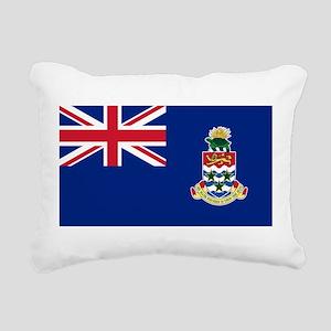 Cayman Islands Flag Rectangular Canvas Pillow
